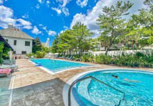 4 Community Pools in Rosemary Beach