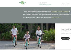 bamboo bicycle company rosemary beach FL
