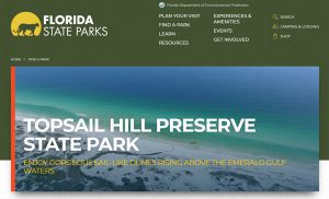 Topsail Hill Preserve State Park South Walton