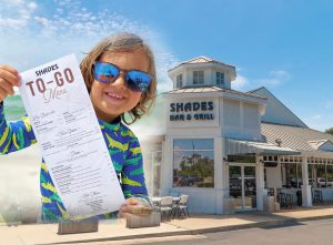 Shades 30A Bar & Grill To Go Orders