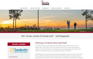 Burnt Pine Golf Club in Sandestin Top 30A area course