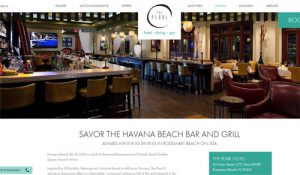 Havana Beach Bar and Grill Rosemary Beach Thanksgiving Dine In