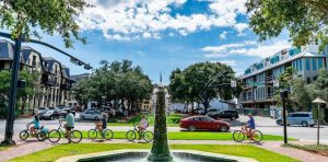 Explore South Walton Beach communities on bikes