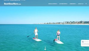 South Walton Beach Rental Services Paddleboard