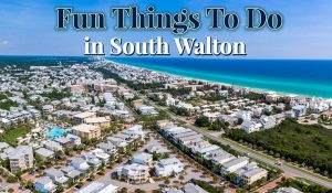Fun Things to do while vacationing in South Walton Florida
