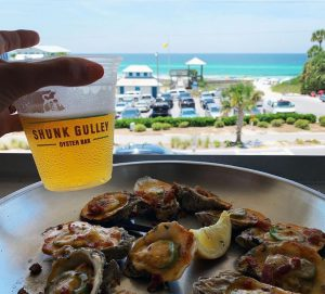 Shunk Gulley has some of the best Oysters on 30A