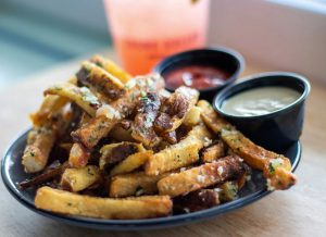 Duck Fat Fries at Shunk Gulley