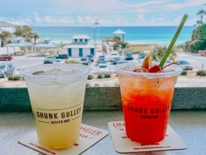 Shunk Gulley Oyster Bar has some of the best drinks on 30A