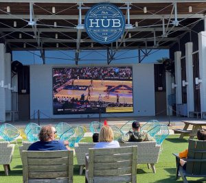 College Basketball Final Four Easter Weekend at The Hub 30A
