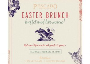 Easter Brunch Pescado Seafood Grill Rosemary Beach