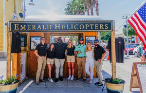 Emerald Helicopters Team at Pier Park in Panama City Beach